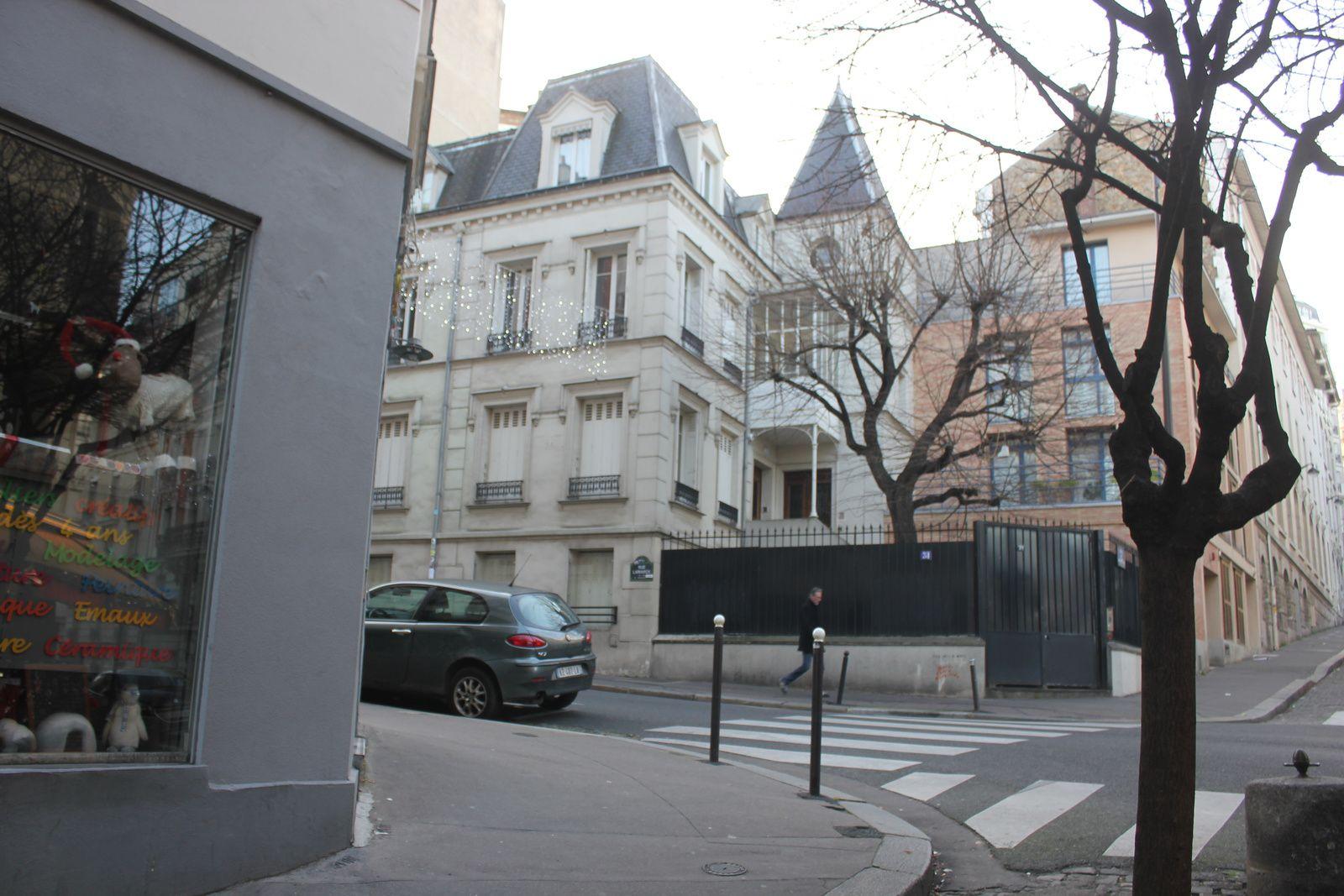 Rue Lamarck - 2- (de la rue du Chevalier de La Barre à la rue Caulaincourt)
