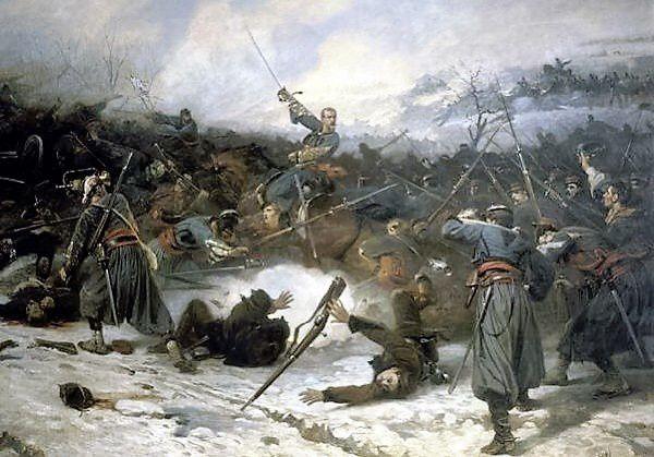 Bataille de Loigny (Patay) Charles Castellani