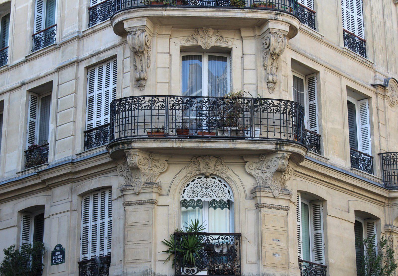 Rue de Clignancourt (première partie du 1 au 34). Montmartre.