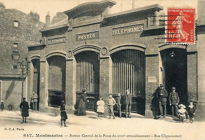 La poste en 1902