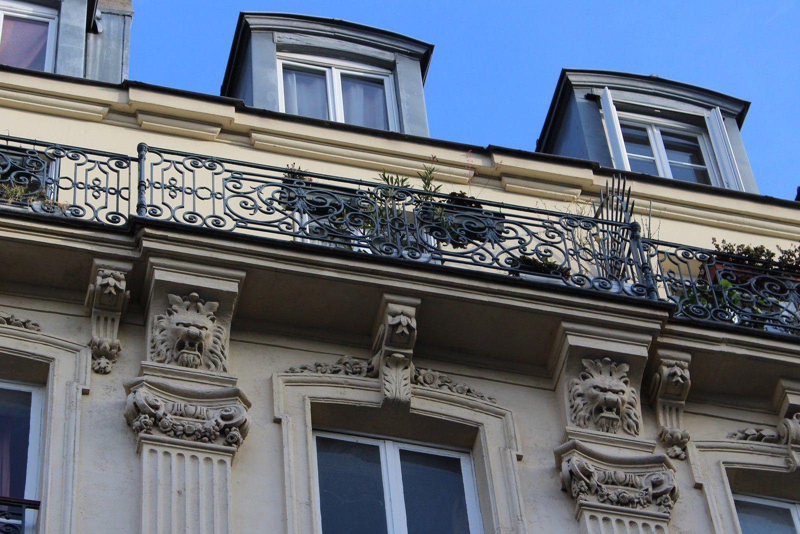 Rue de Clignancourt (3ème partie) de Custine à Marcadet.