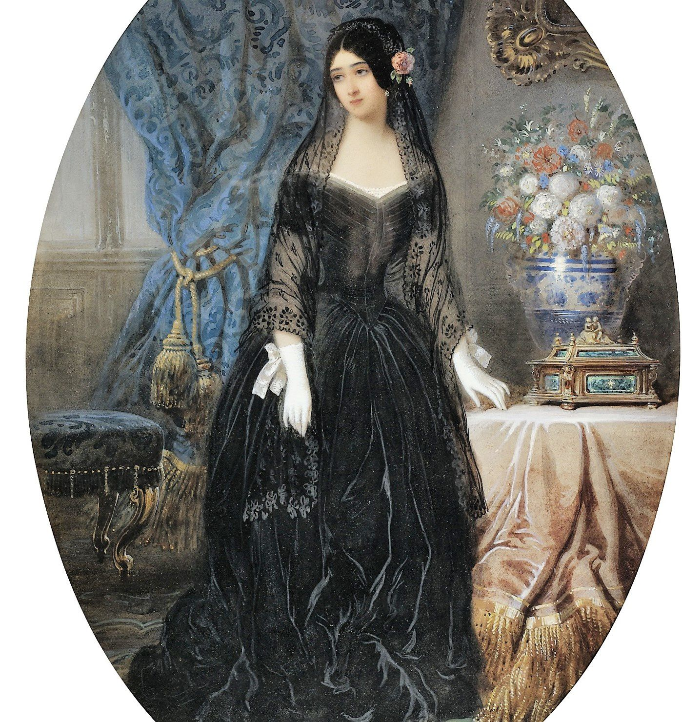 Marie Duplessis. Jean Charles Olivier (1840)