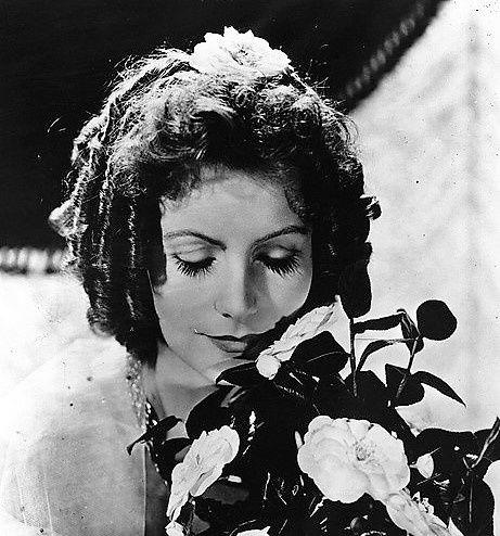 Greta Garbo. La Dame aux Camélias.
