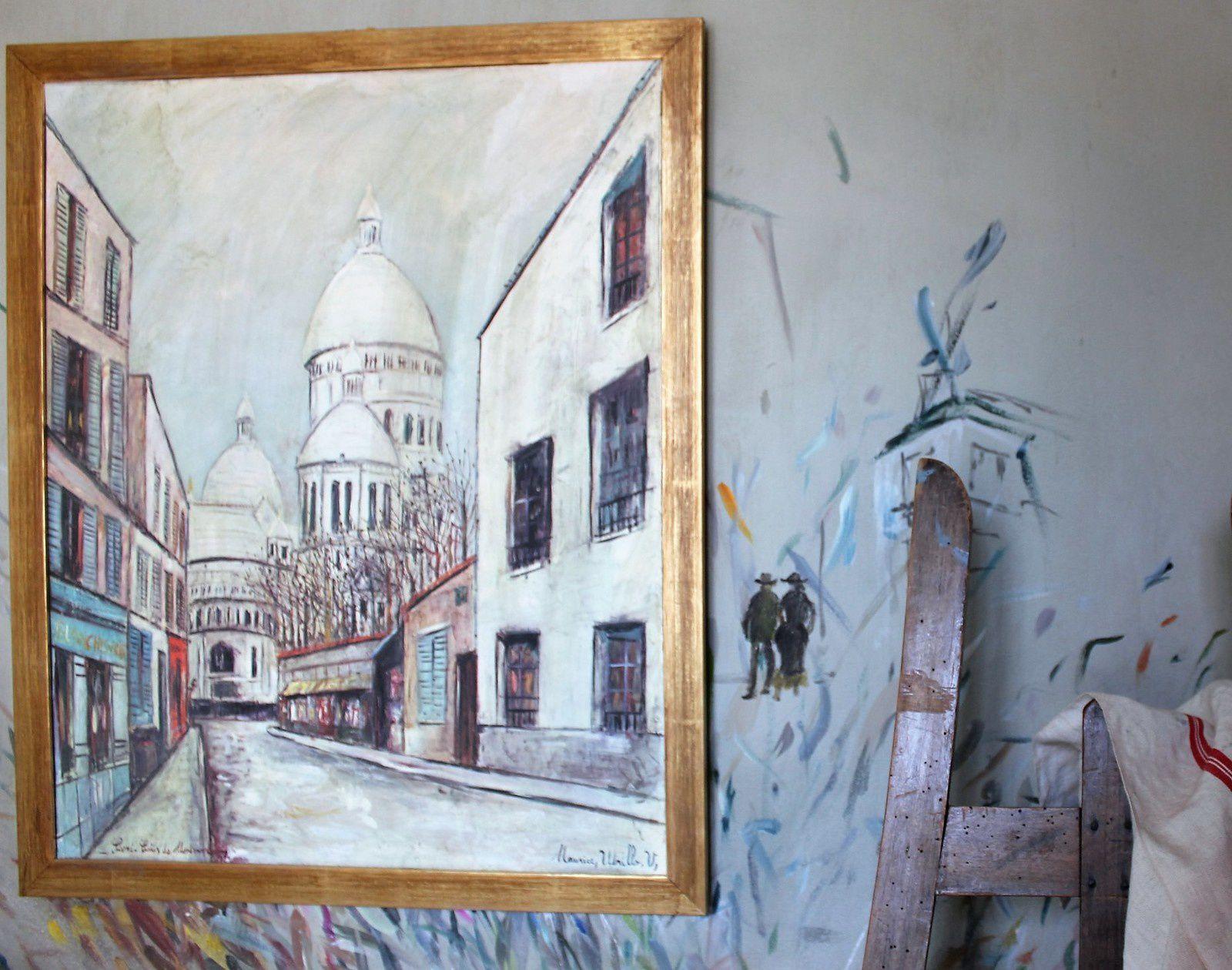 Suzanne Valadon. Musée de Montmartre rue Cortot. Atelier et appartement.
