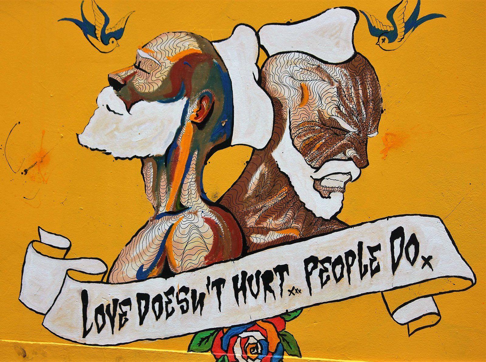 Juin 2016. Aujourd'hui, en octobre, la fresque a été recouverte. Art éphémère qui laisse émotion et regret.