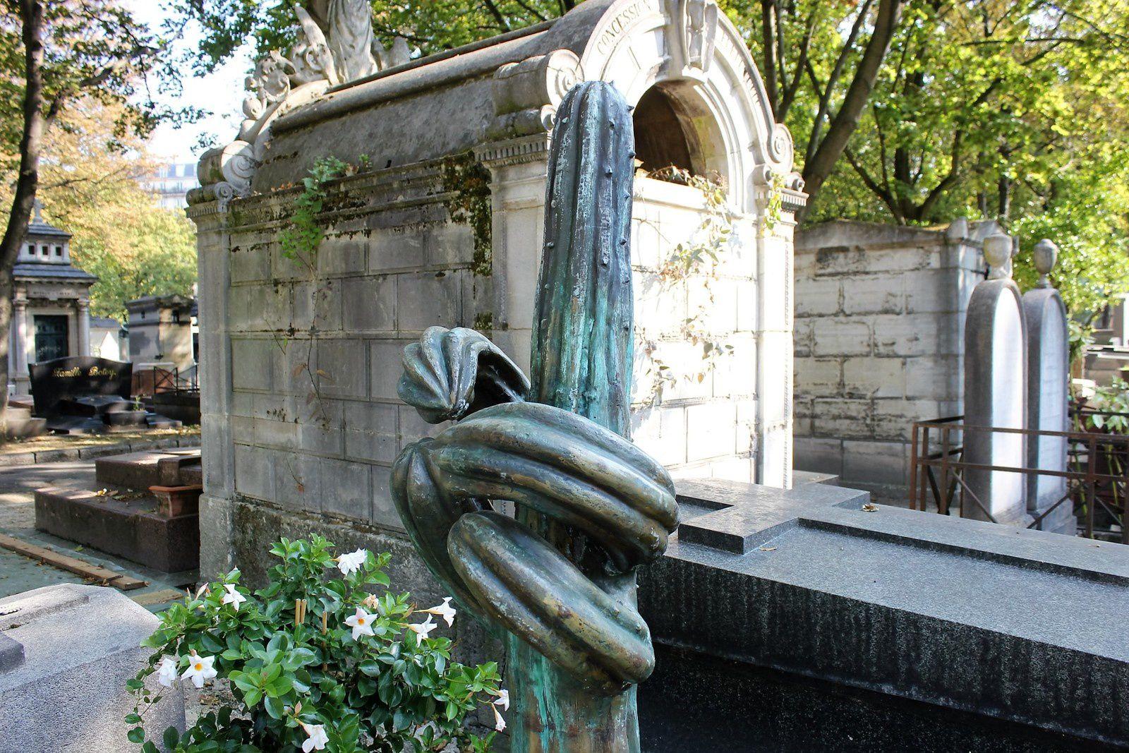 Cimetière Montmartre. Siné.