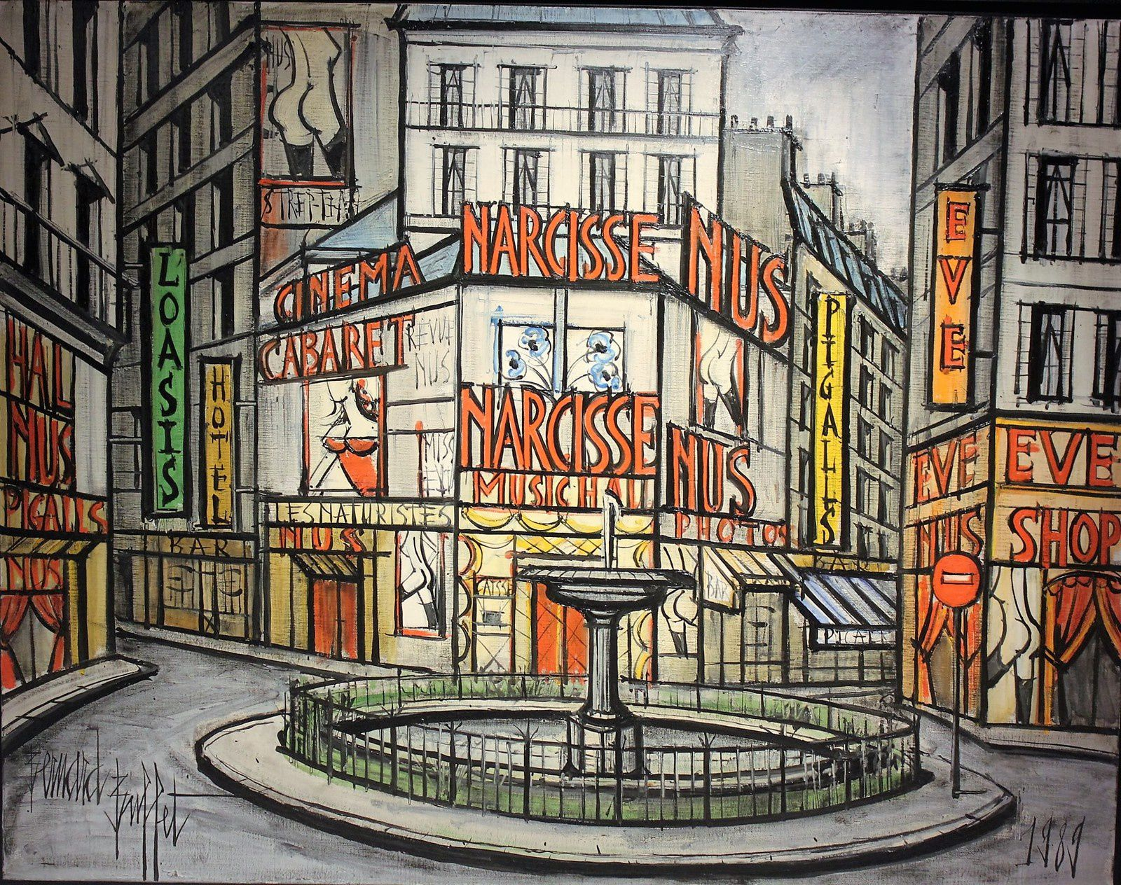 Place Pigalle 1989.