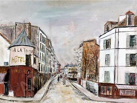 La Tourelle. Utrillo.