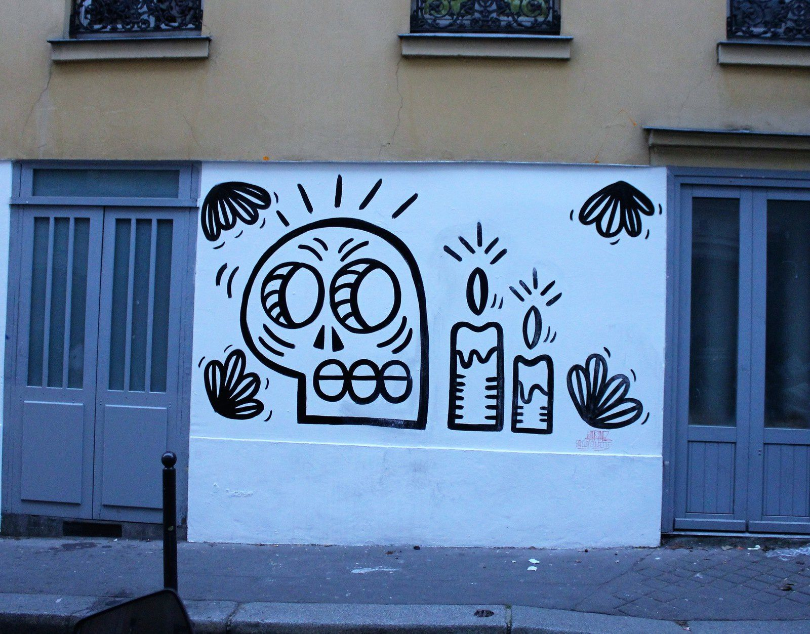 Martinez. Rue Androuet.