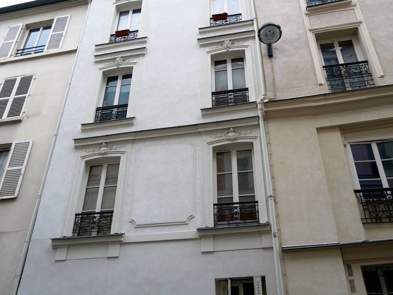 Rue Garreau. Montmartre.
