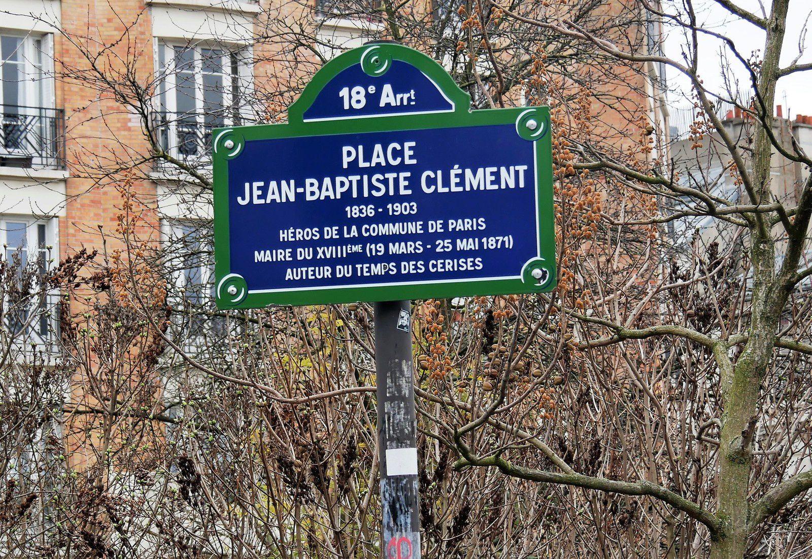 Mêmes erreurs sur la plaque! Il ne fut jamais maire de Montmartre! Il n'eut jamais de trait d'union!