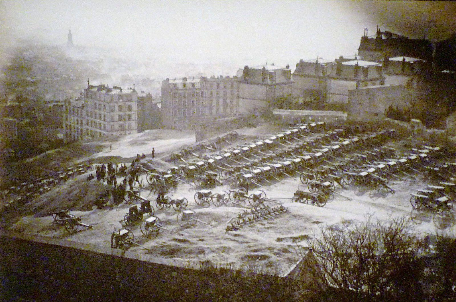 Les canons de Montmartre.