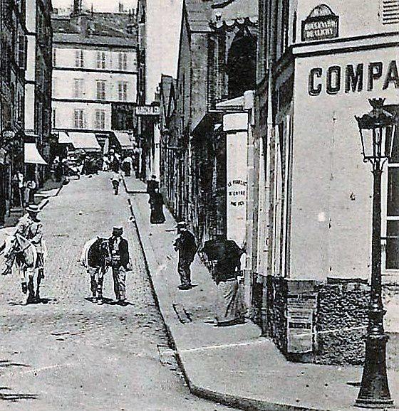 Angle boulevard de Clichy -Coustou I904