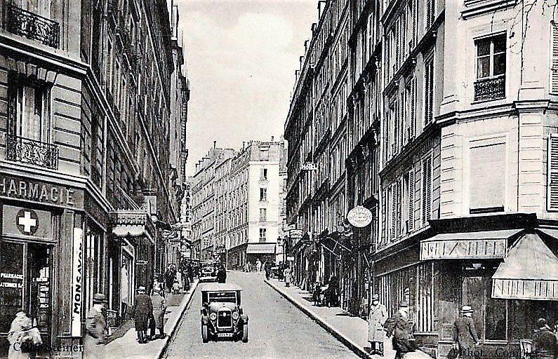 Rue Dancourt 1904