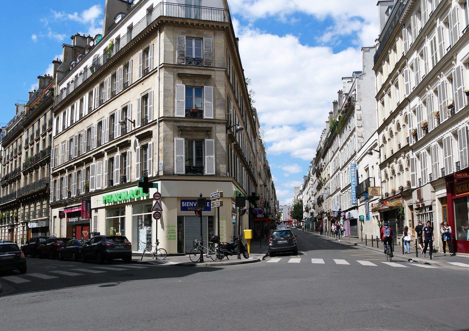 Rue Fontaine (1ère partie: Entre la rue Pigalle et la place André Breton.)