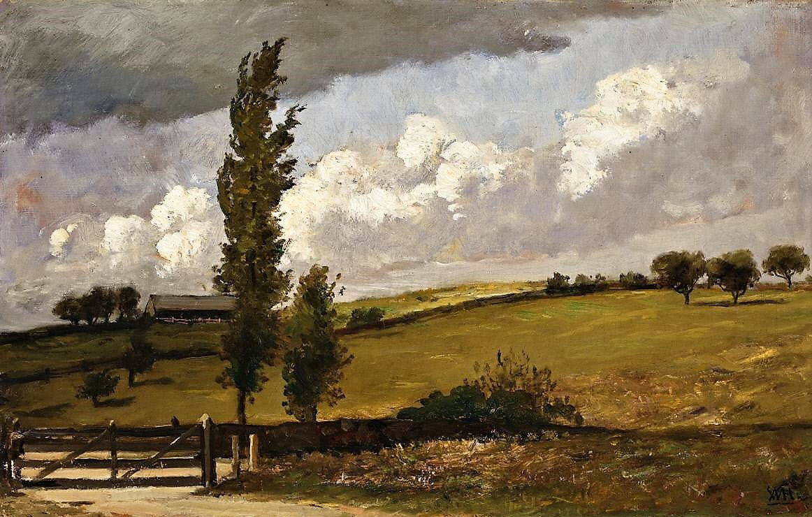 Paysage. William Hunt.