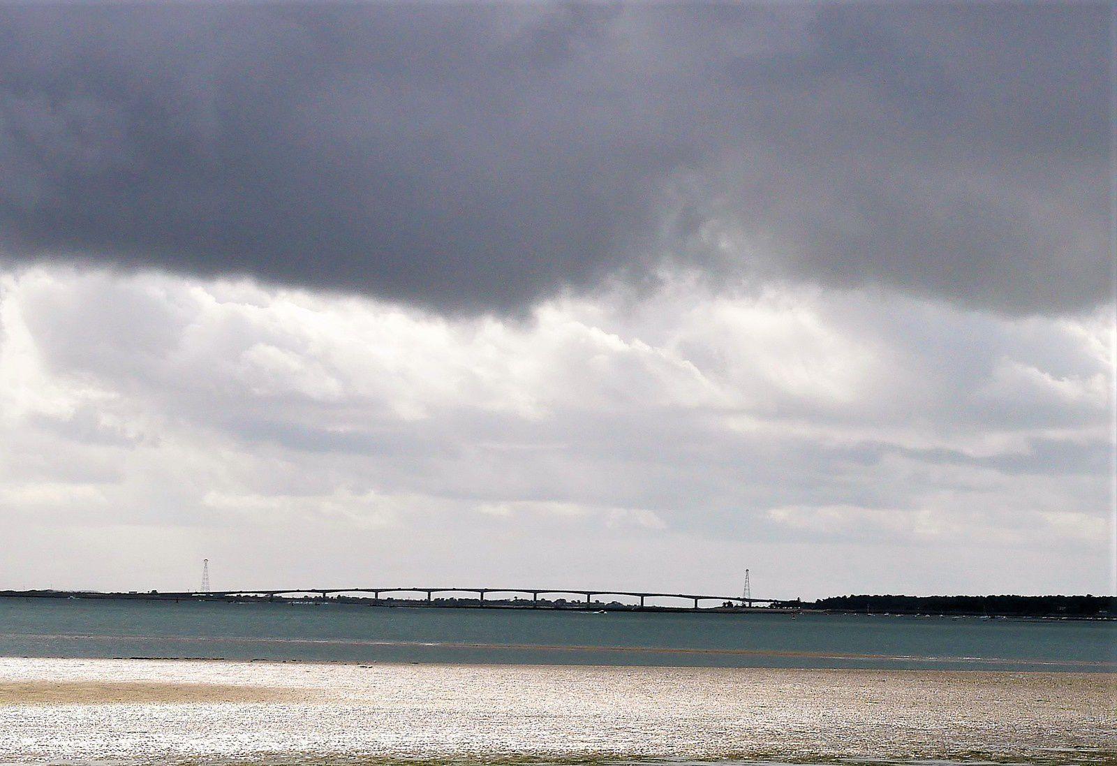 20 juillet Orage sur le pont de la Seudre