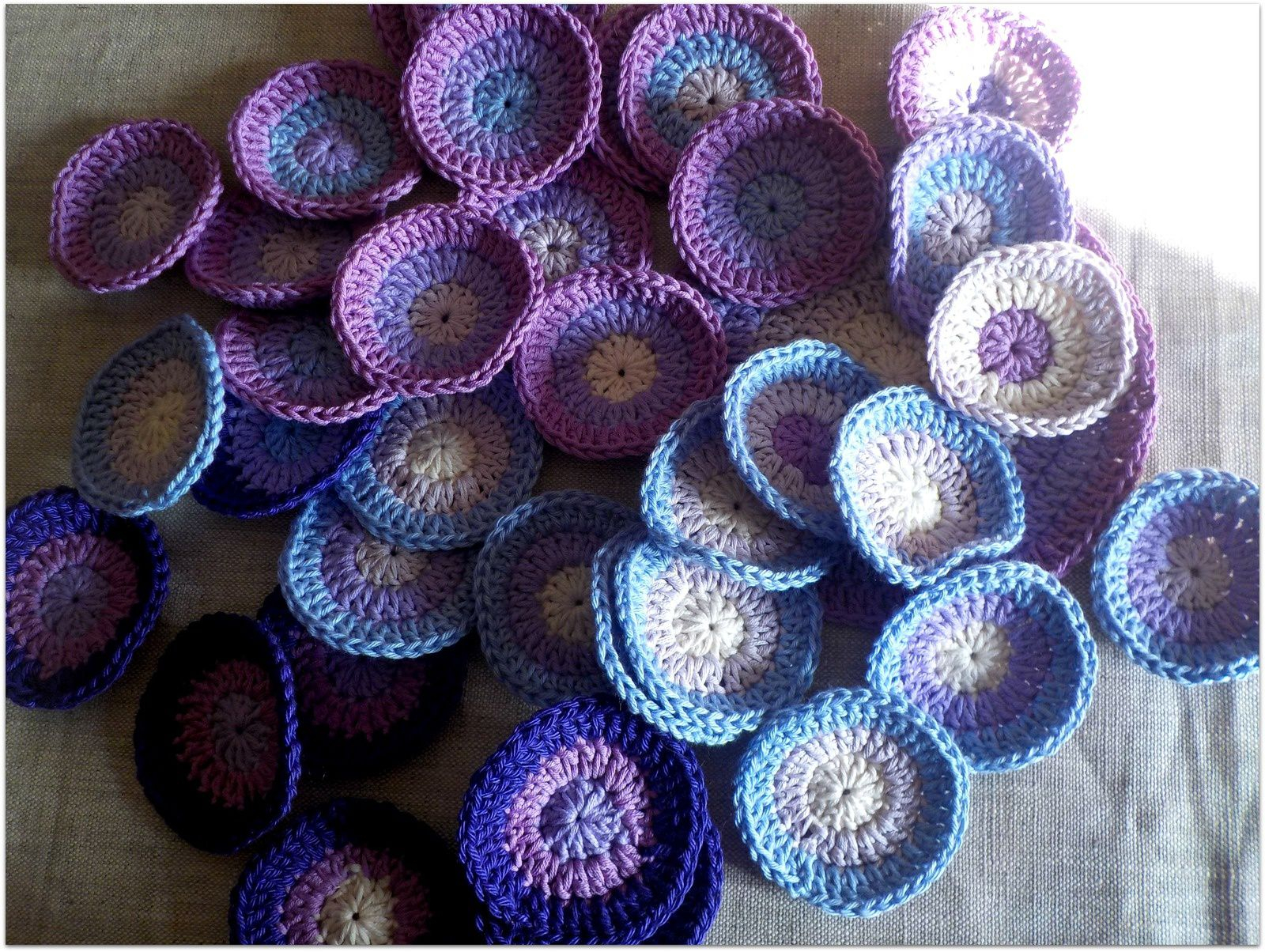 grands et petits violets...