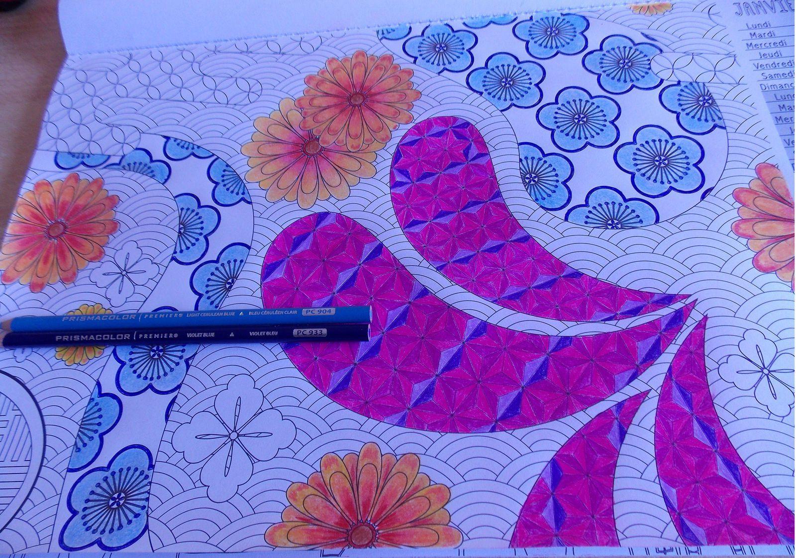 Coloriage zen - en cours-