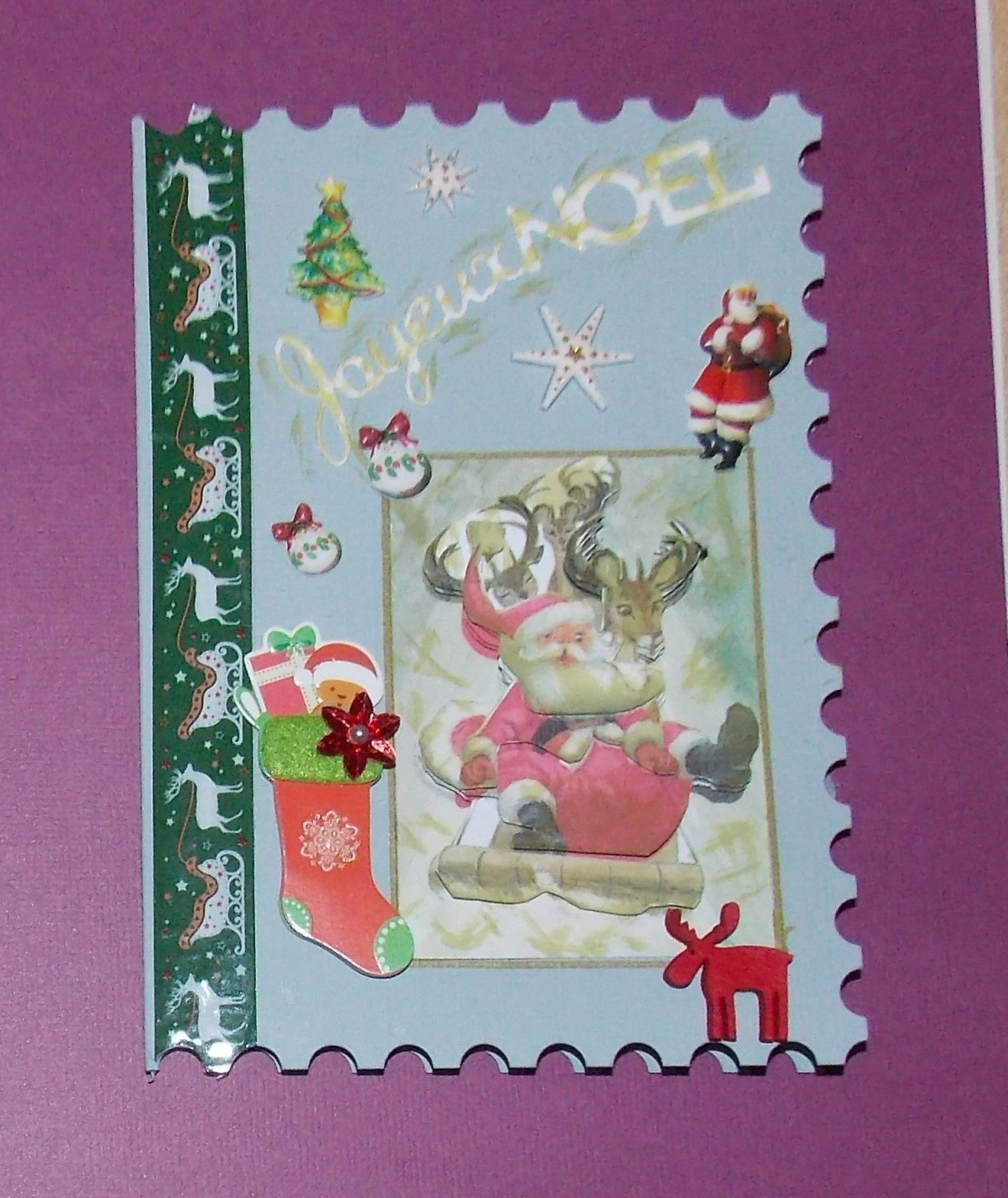 Collection de cartes Père Noël
