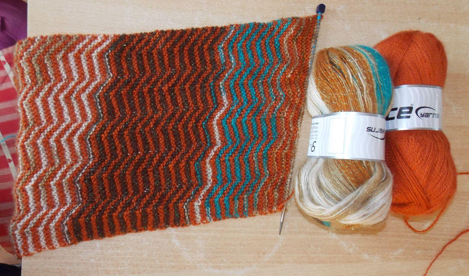 Une commande de laine chez &quot&#x3B;LES PETITES PELOTES DE ROSALIE&quot&#x3B;