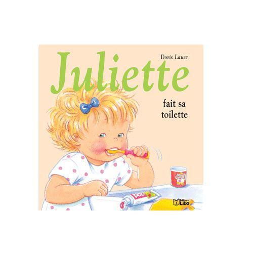 Illustration du livret Juliette fait sa toilette