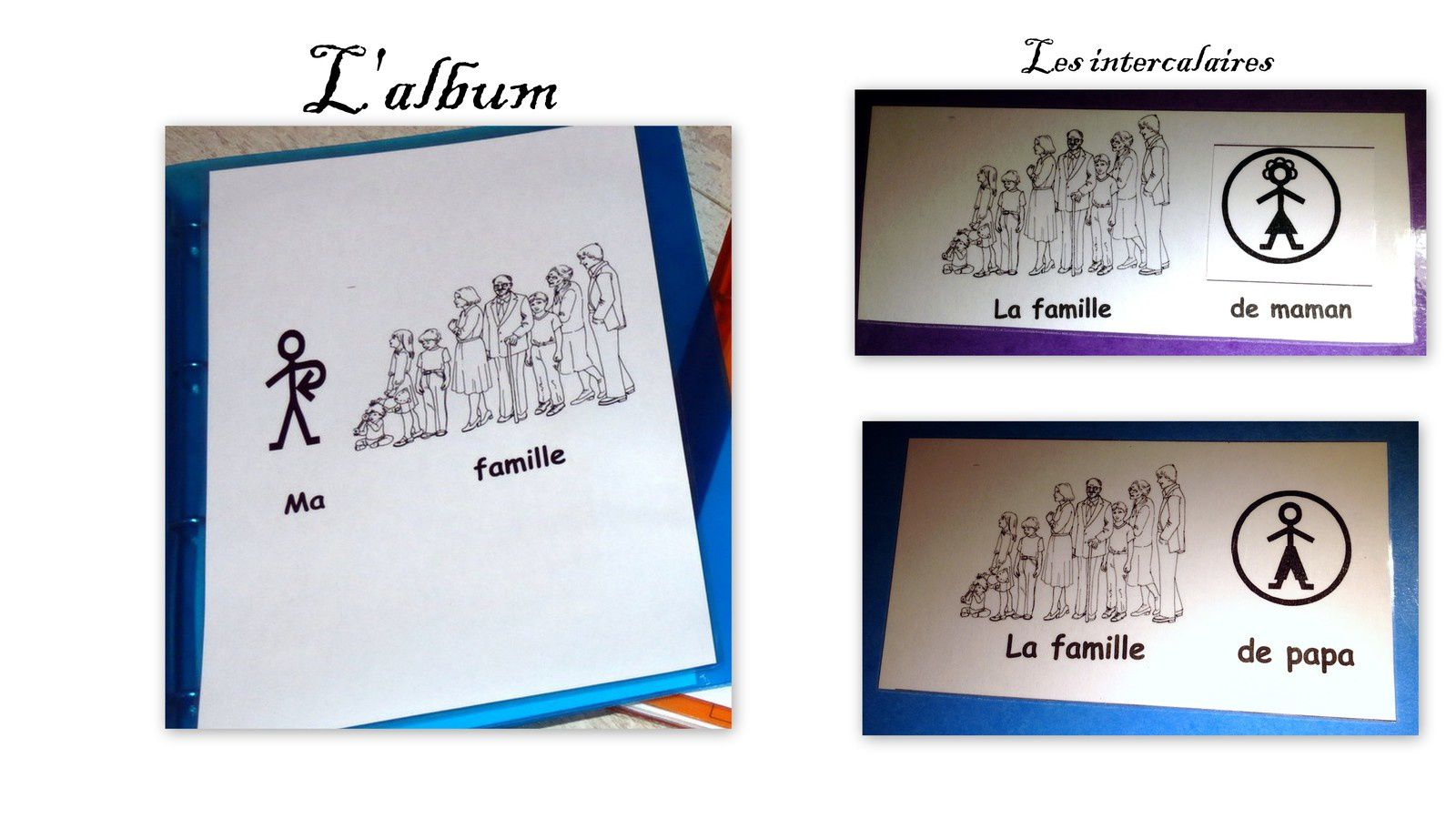 Autonomie : albums photos en pictogrammes (2)