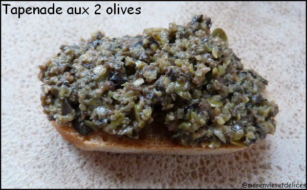 Tapenade aux 2 olives