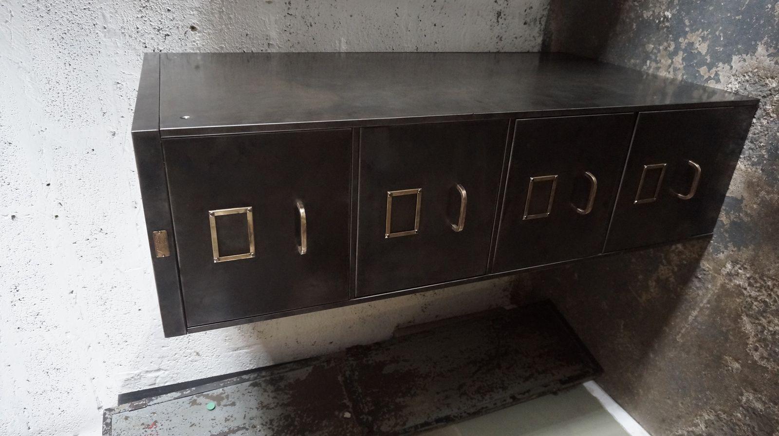 Meuble A Tiroir Rosycabroc Design Industriel
