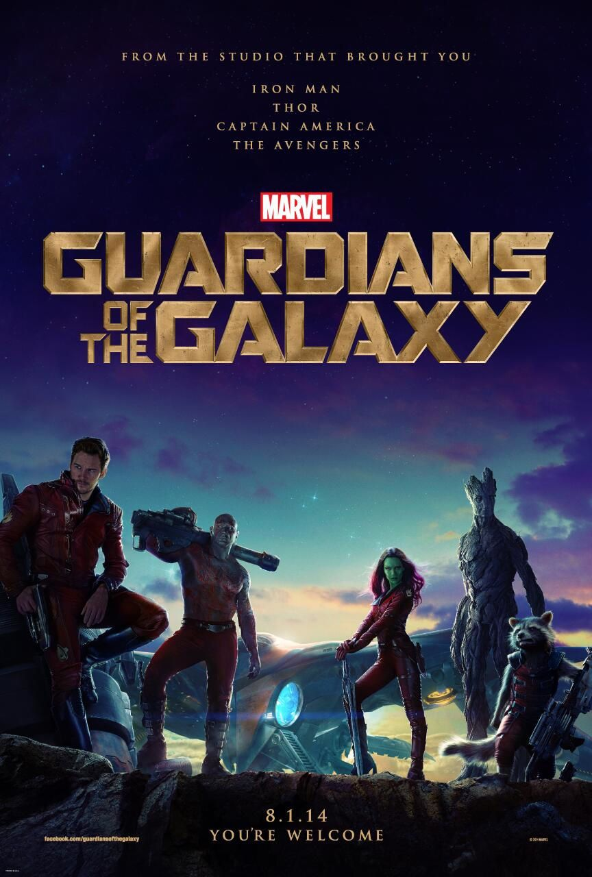 1° poster GOTG