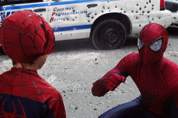 The Amazing Spider-Man 2 : Rhino et Bouffon vert