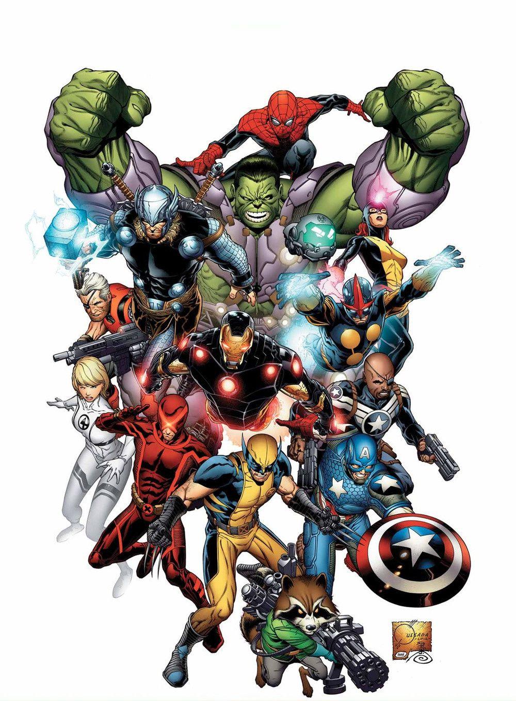 Marvel au ciné jusqu'en 2028