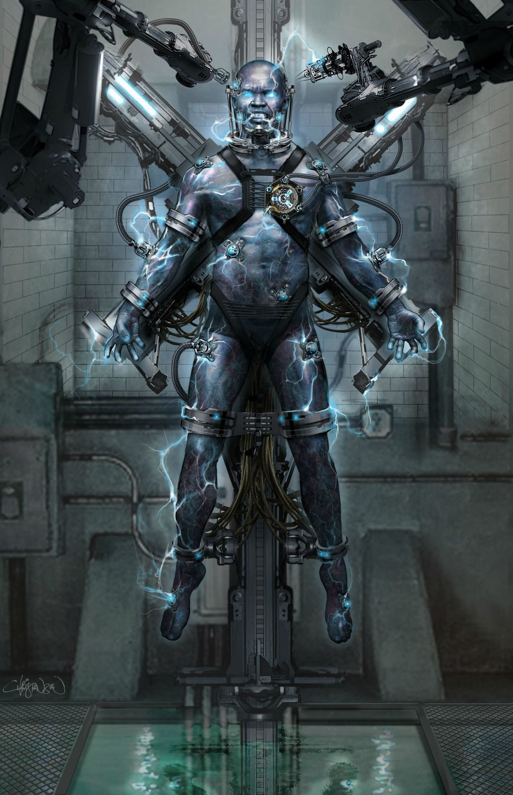 The Amazing Spider-Man 2 : concept-arts d'Electro