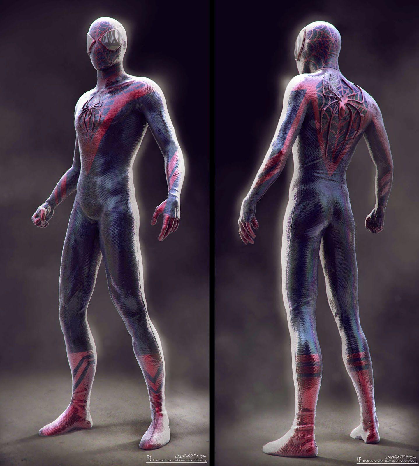 The Amazing Spider-Man 2 : Designs alternatifs