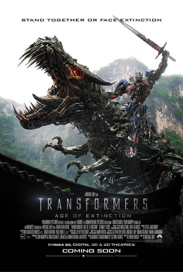 Transformers Age Of Extinction : 2 Posters + 2 photos