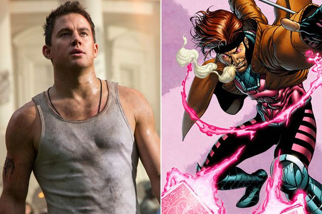 Channing Tatum is Gambit