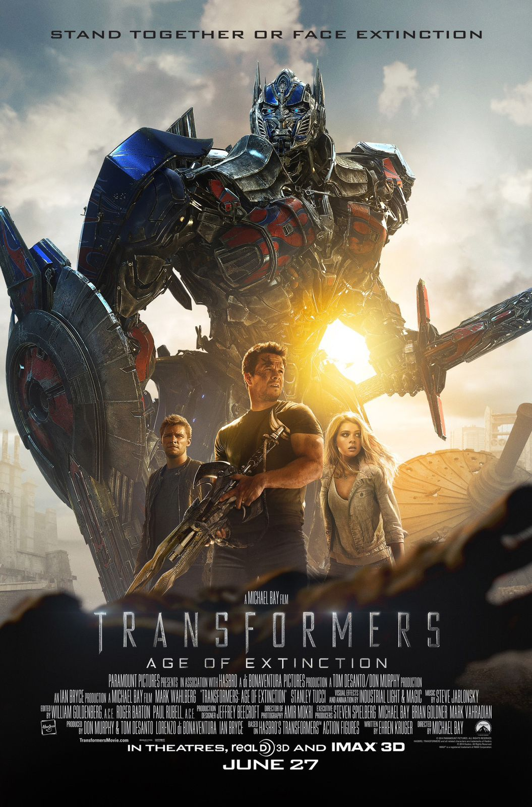 Transformers : new poster new trailer