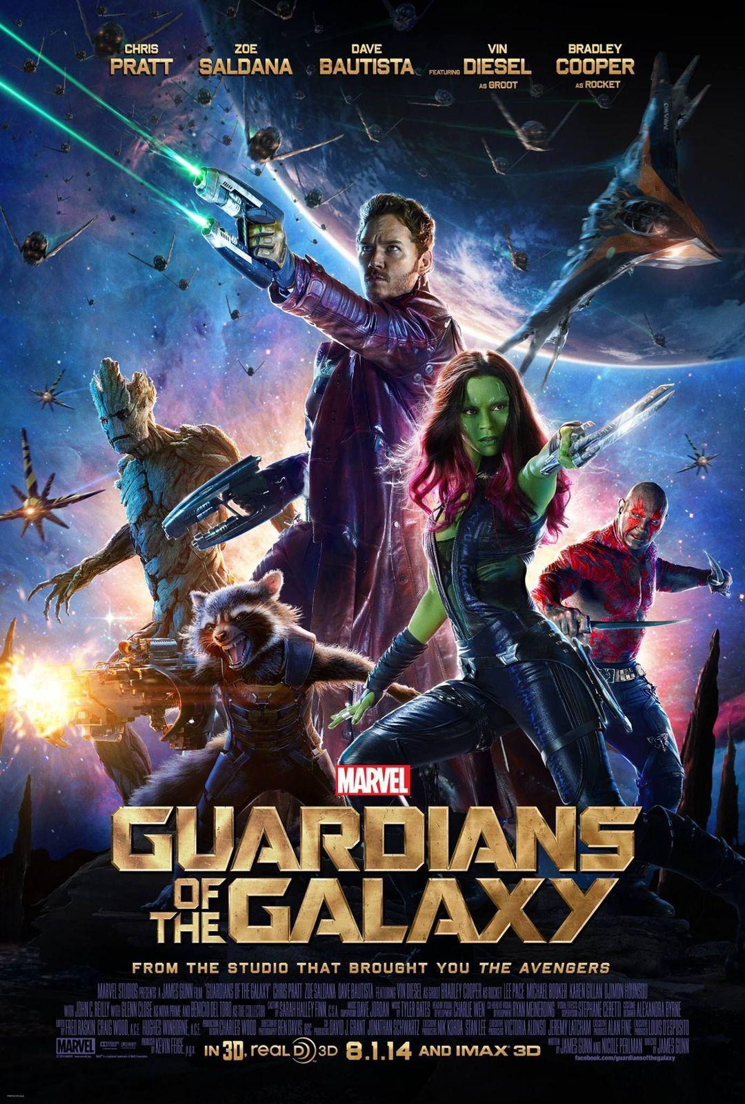 Les Gardiens de la Galaxie : New poster