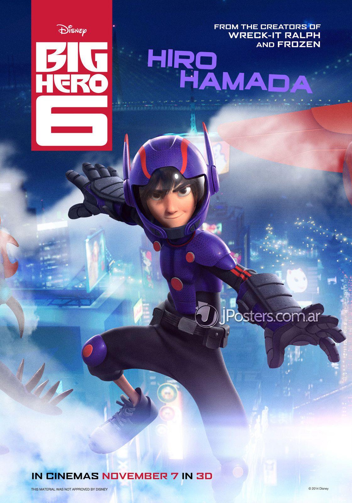 Les Nouveau Héros : 6 nouveaux posters