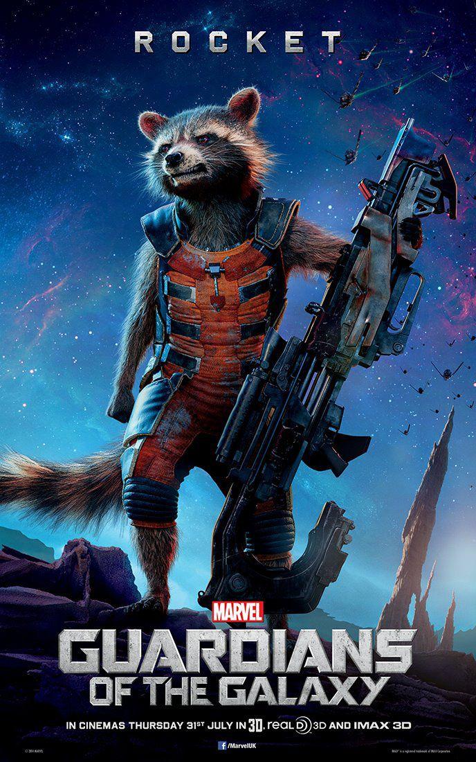 Les Gardiens de la Galaxie : Rocket et Groot s'affichent