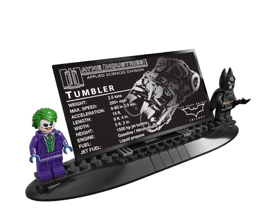 Lego : Le Tumbler de TDK