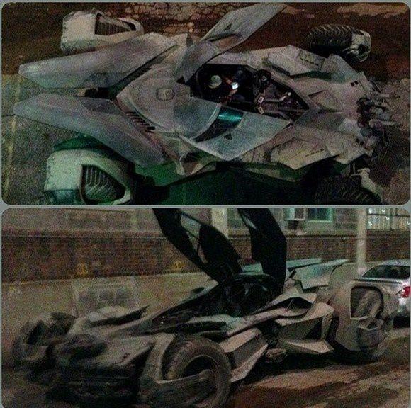 Batman Vs Superman : La Batmobile sous toutes ses coutures