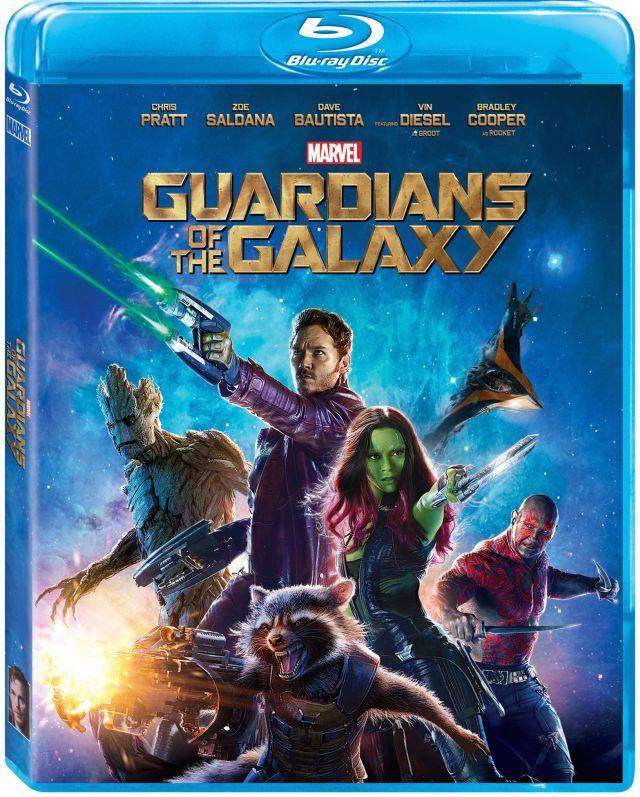 Les Gardiens de la Galaxie : Bonus du Blu-ray