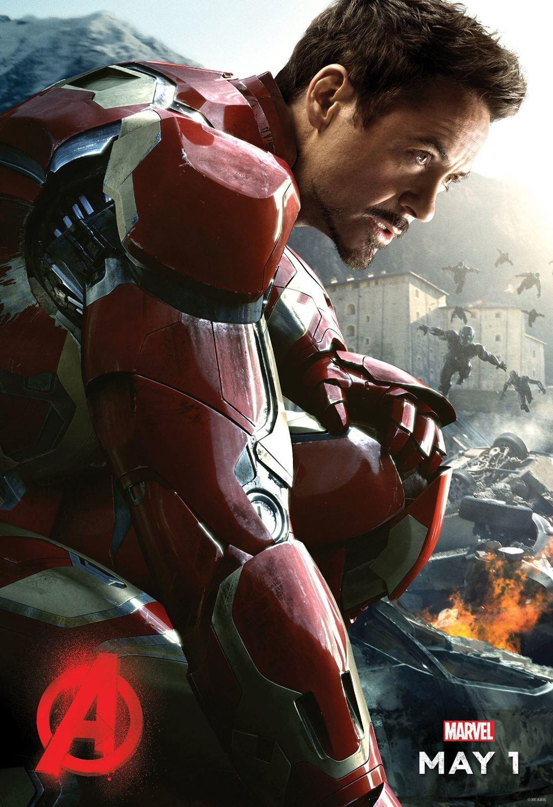 Avengers 2 : Avalanche de posters
