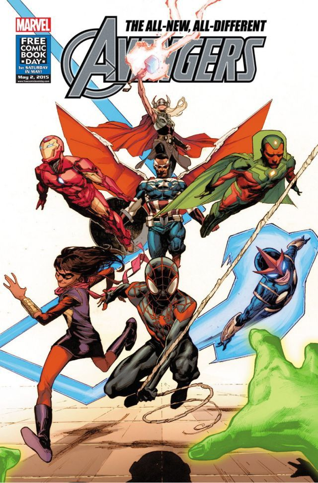 All New All Different Avengers : Cover
