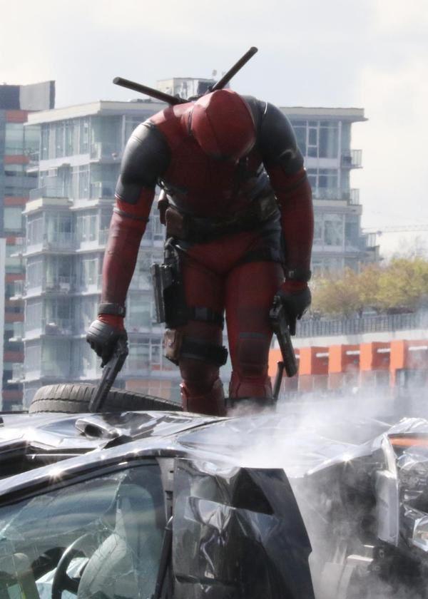Deadpool : new set de photos