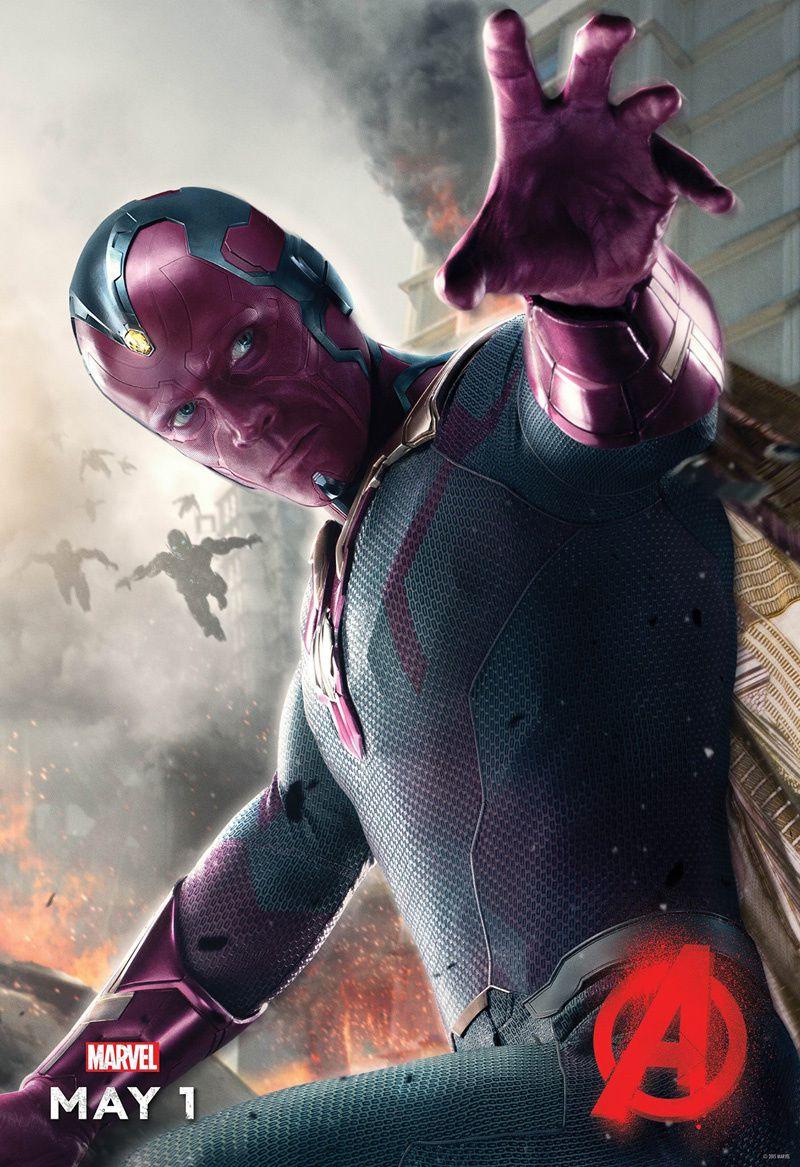 Avengers 2 : la Vision en poster