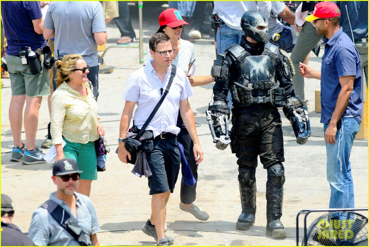 Captain America : Civil War : Crossbones en photo