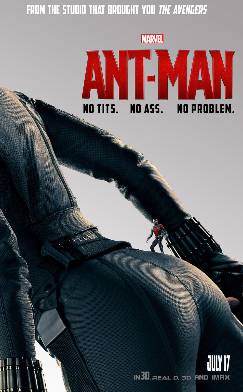 Ant-Man : Fan posters : Black Widow et HawkEye
