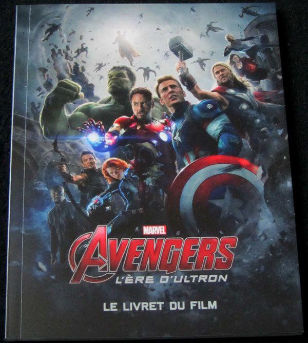 Unboxing Steelbook Avengers : l'ère d'Ultron